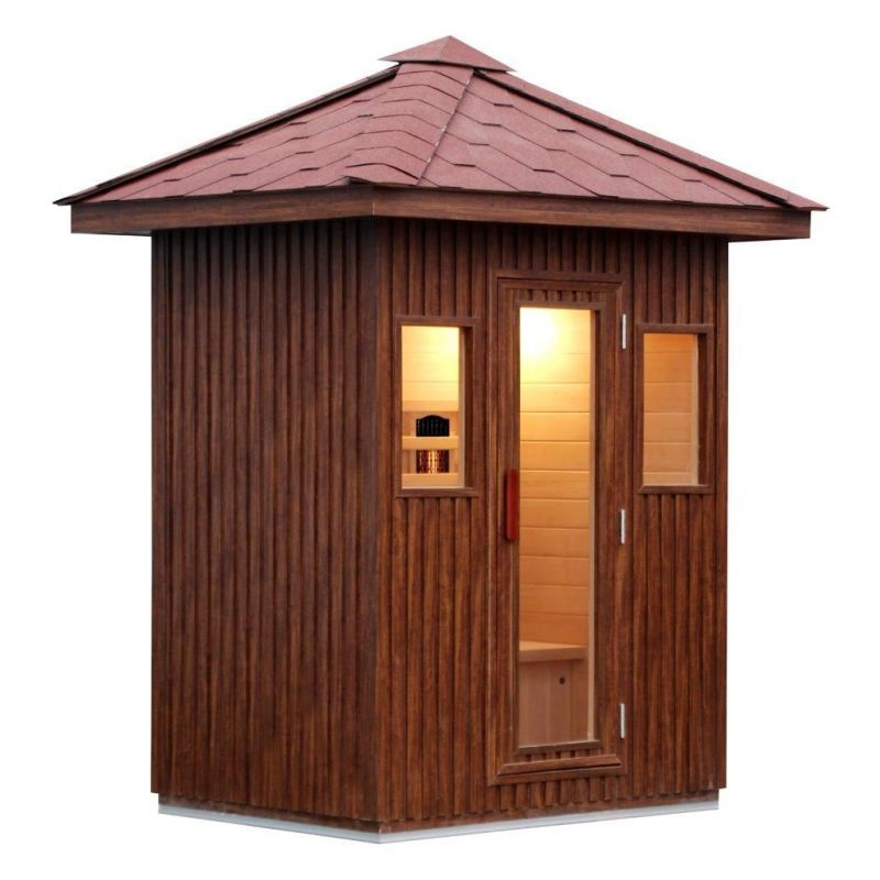 Sauna Infrarossi esterno Starfitness 201800PRH03001
