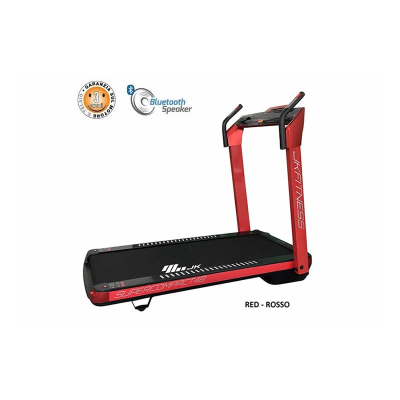 Tapis Roulant JK Fitness JK 48 Supercompact - Red